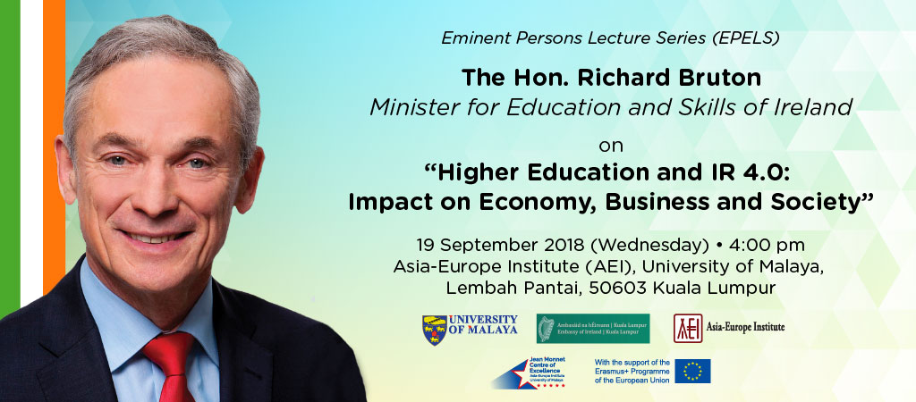 Higher Education and IR 4.0: Impact on Economy, Business and Society