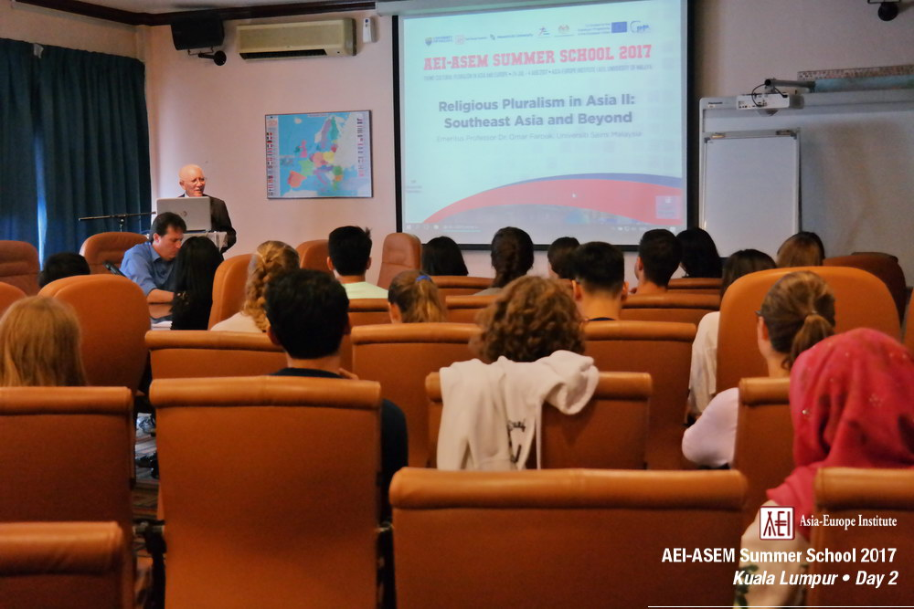 AEI-ASEM Summer School 2017 -  Day 2