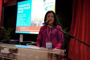 Welcoming address by the Executive Director of the Asia-Europe Institute, Prof. Dr. Azirah Hashim