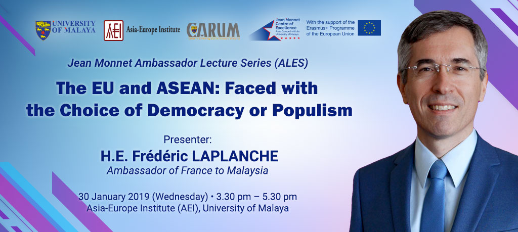 The EU and ASEAN: Faced with the Choice of Democracy or Populism