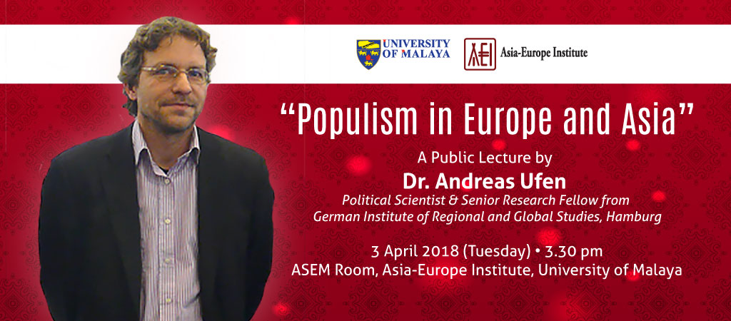 Populism in Europe and Asia
