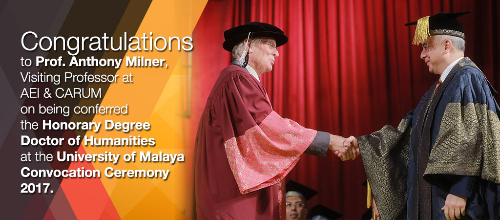 Honorary Degree Doctor of Humanities: Anthony Crothers Milner