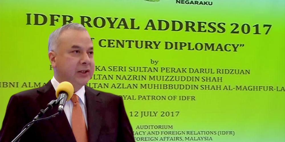 Keynote Address by His Royal Highness Sultan Nazrin Muizzuddin Shah