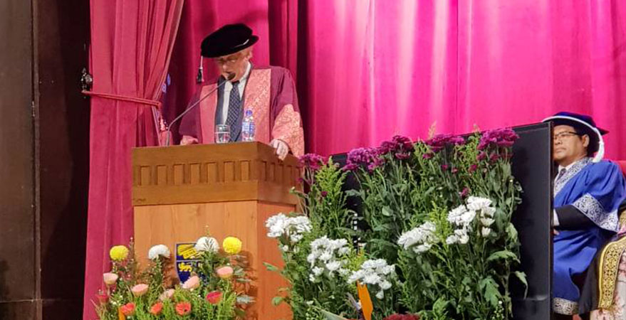 Prof. Anthony Milner's Doctor of Humanities Acceptance Speech