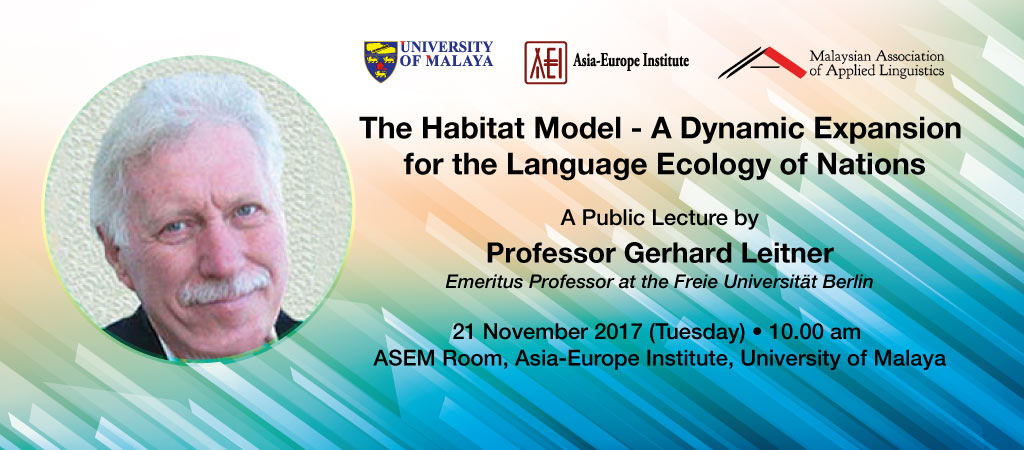 The Habitat Model - A Dynamic Expansion for the Language Ecology of Nations