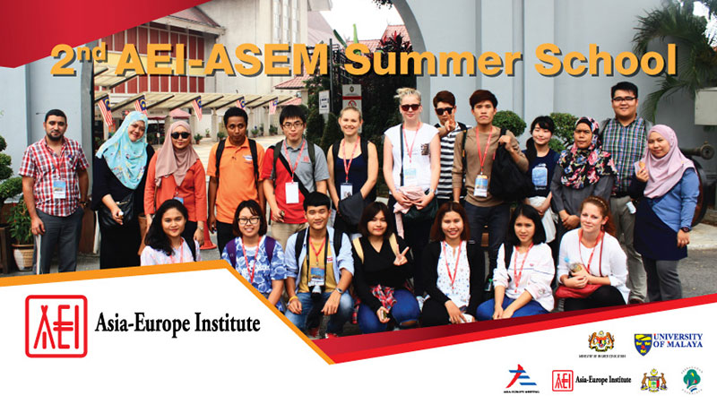2nd AEI-ASEM Summer School Programme: The Official Report