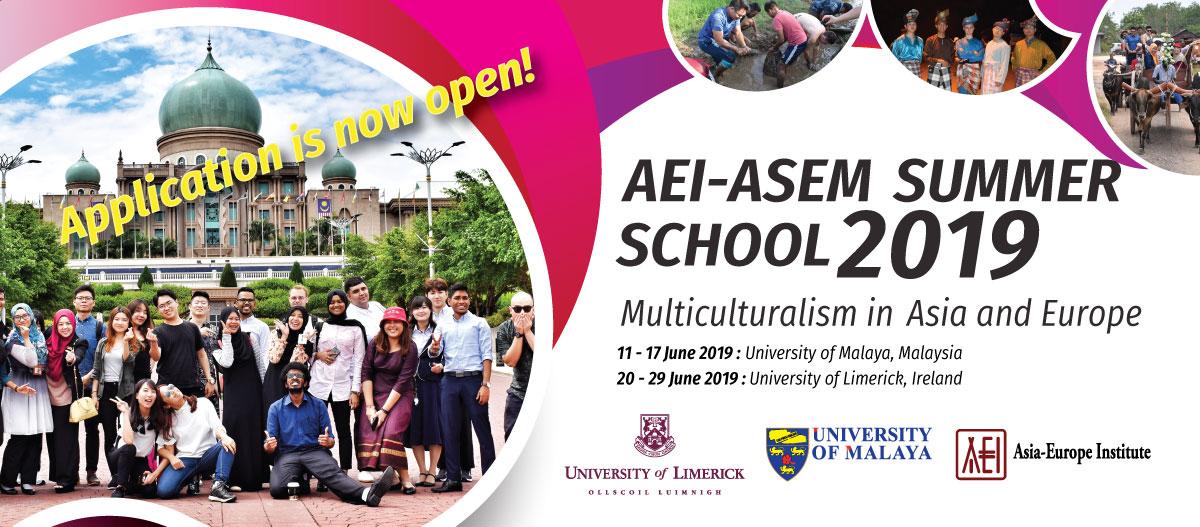 AEI-ASEM Summer School 2019