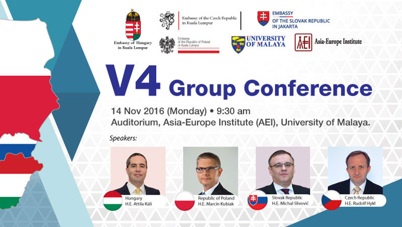 V4 Group Conference - 14 November 2016 @ AEI