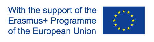 With the support of the Erasmus+ Programmes of the European Union