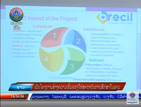 BRECIL in the news: Lao National Television