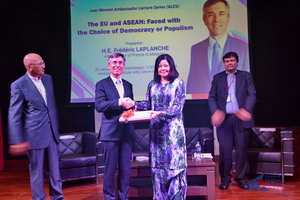 Jean Monnet Ambassador Lecture Series featuring H.E. Frédéric LAPLANCHE, Ambassador of France to Malaysia.