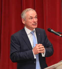The Honorable Richard Bruton, Minister for Education and Skills of Ireland